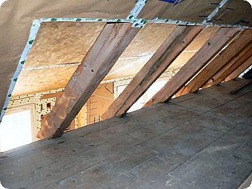 Dachbalken Verkleiden dach sanierung