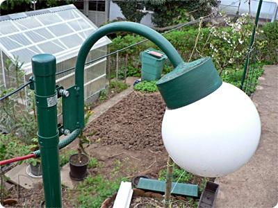 Afrikanische lampe selbst bauen raum und m beldesign - Gartenlampe selber bauen ...